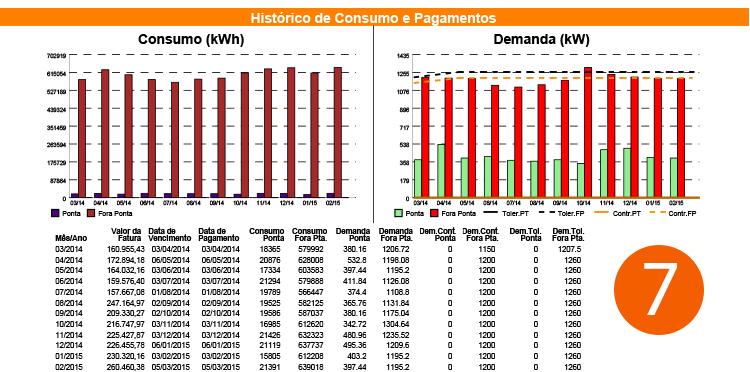 Analisando a conta de energia elétrica